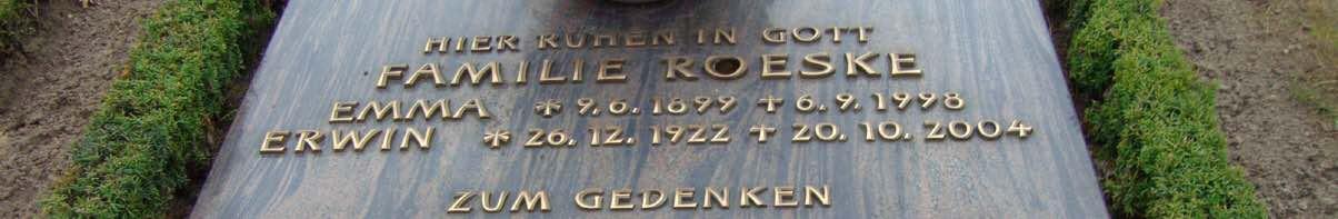 Lebenslauf Erwin Roeske